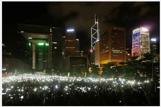 香港的占中行动没有影响本地股市