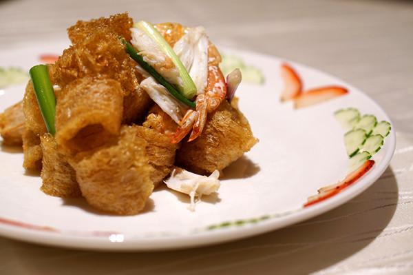 镬炒鱼鳔明虾
