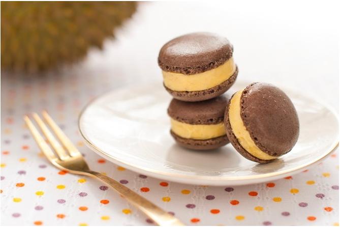 西式甜点马卡龙是今年新推出的款式之一