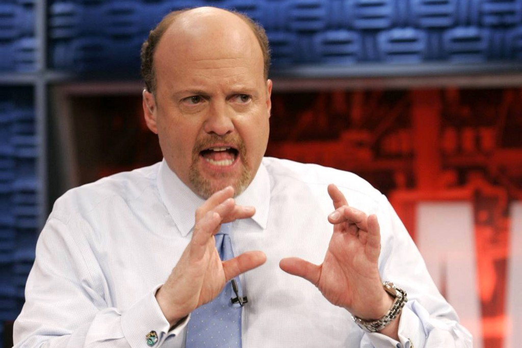 Jim Cramer认为股市大跌是由美国以外的因素导致