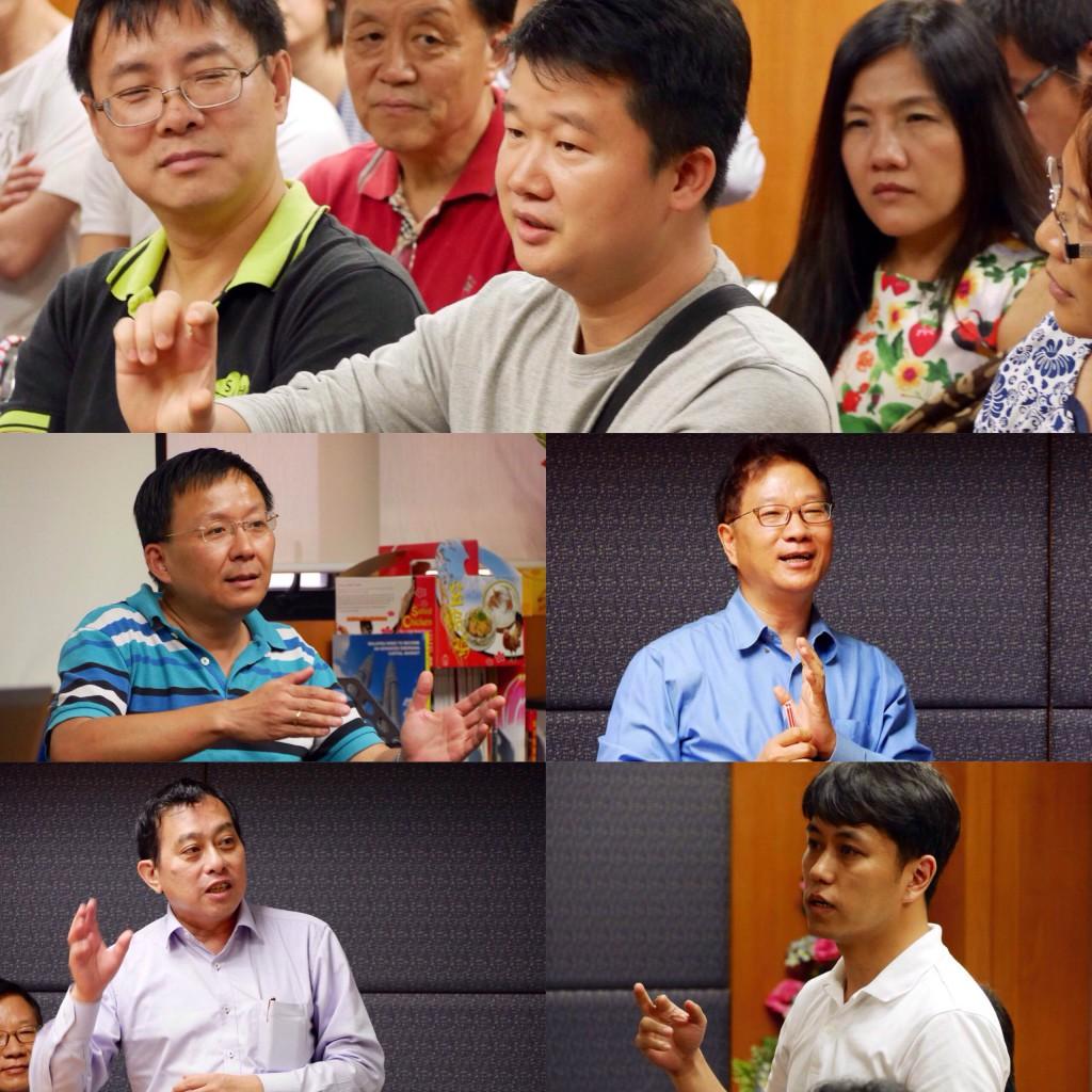 出席者踊跃发问及分享自己的投资经验
