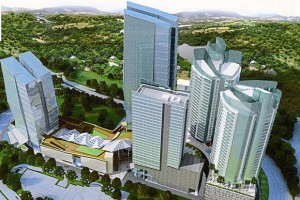 artist impression of Damansara City