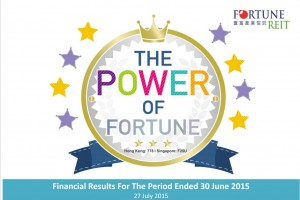 fortune reit 1H15 results