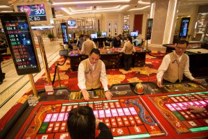 Inside The Galaxy Entertainment Group Ltd. Casino Resort Phase Two And Broadway Macau