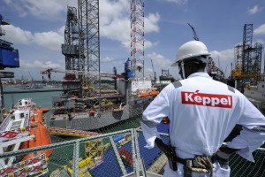 Keppel Corp. Offshore Jackup Rig Naming Ceremony