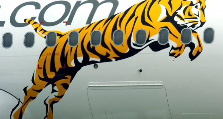 Tiger Airways'  First Aircraft
