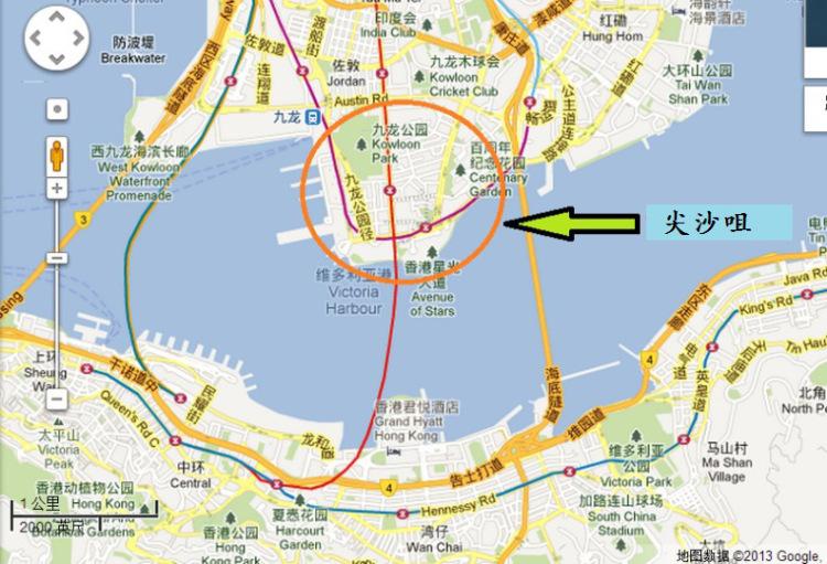 九龙公园位置