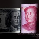 人民币汇率越来越强,最近已去到1美元还兑换不到6.8人民币的水平,升值2%。货币币值上升2%是大事,影响也很大。图源:Nelson Ching/彭博社