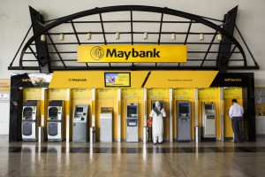 Inside A Malayan Banking Bhd. (Maybank) Branch Ahead of Second-Quarter Earnings