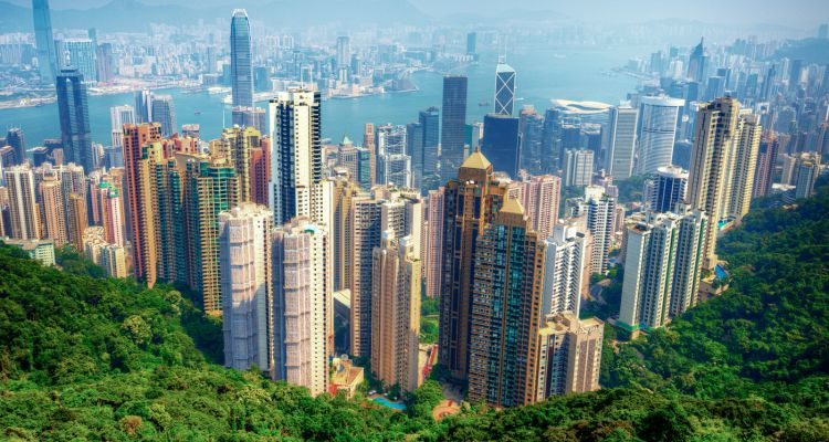 hong-kong-blue-skyline