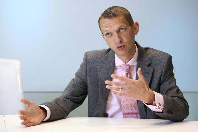 英格兰银行的首席经济分析师Andrew G Haldane;图源:彭博社