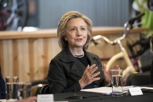 民主党的总统候选人—希拉莉