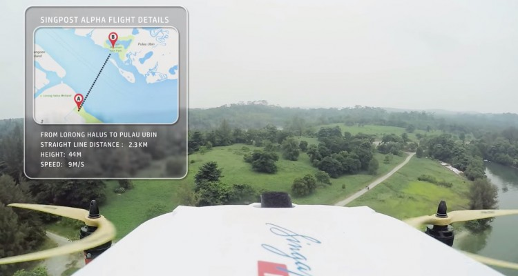 singpost drone trial 1