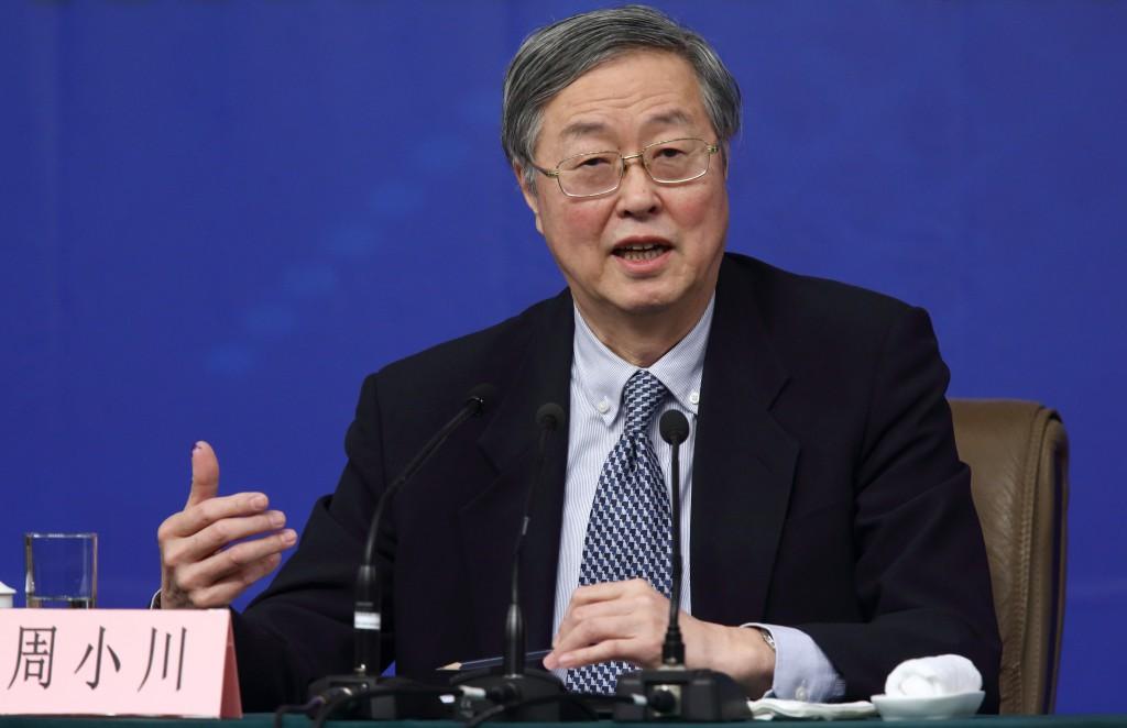 中国人民银行前行长周小川近日甚至说,中国得准备全面放弃美国市场。这应该是最狠的话了。中国每年出口到美国的产品约值5,000亿美元,放弃了,搞什么? 图源:Tomohiro Ohsumi/Bloomberg