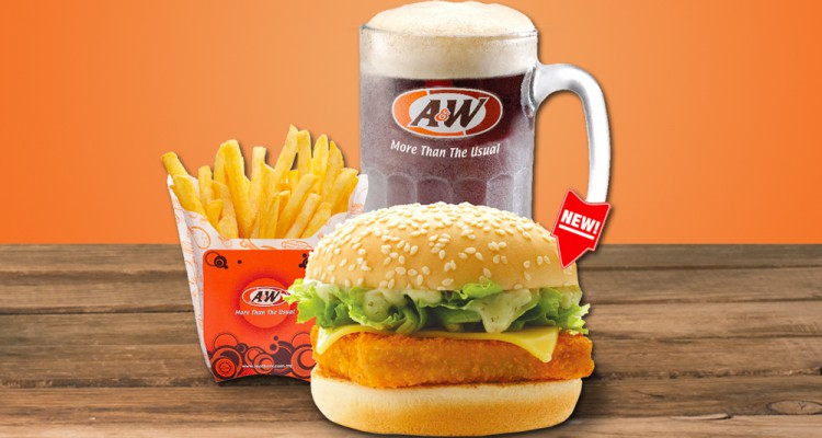 A&W set meal - pic