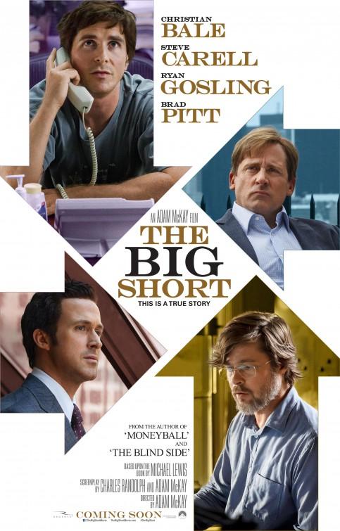 The Big Short的电影海报