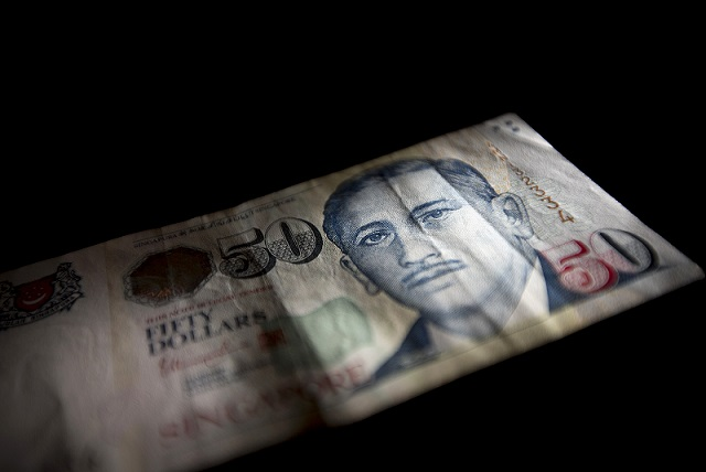 Singaporean Dollar Banknotes As Prime Minister Lee Sees Growth Challenge