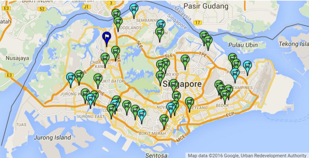 昇菘超市遍布新加坡全岛。资料来源:昇菘集团
