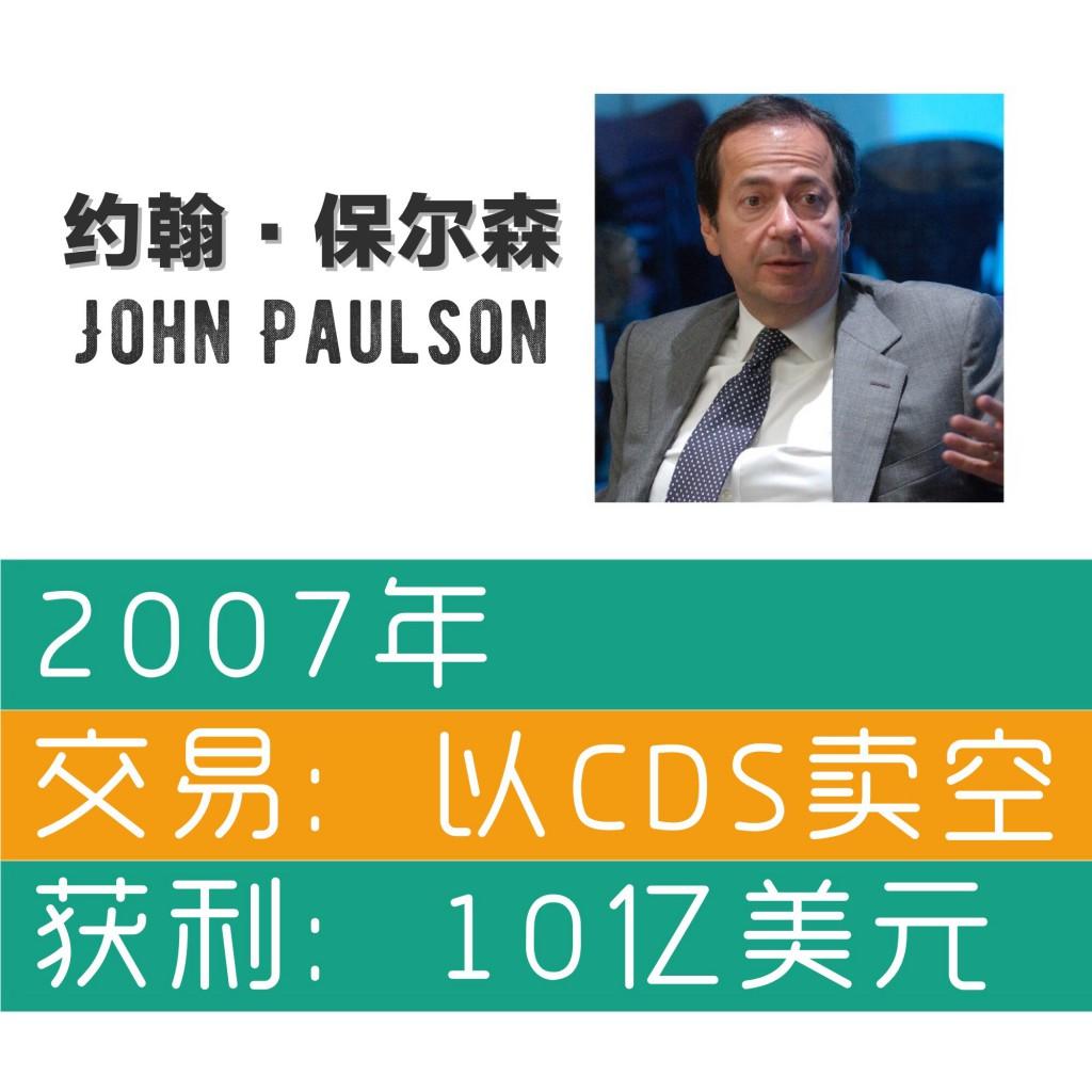 John Paulson Short