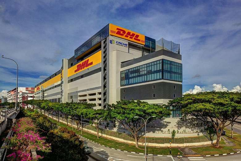 DHL供应链区域中心。 图片来源:凯诗物流信托