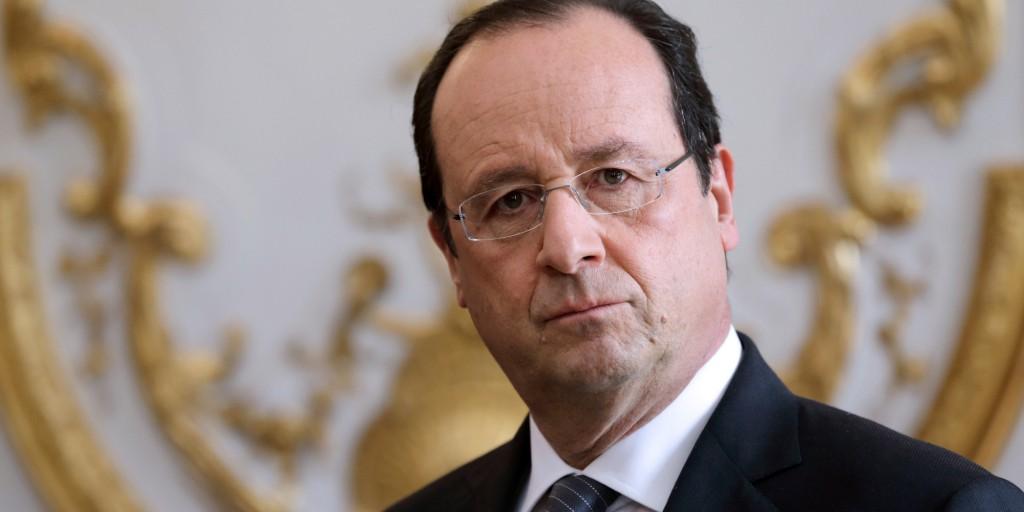"""法国总统奥朗德:""""我不是想吓你。"""""""
