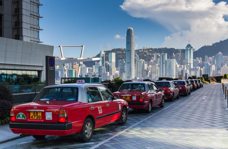 Hong Kong taxi 2
