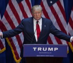 共和党的总统候选人——特朗普