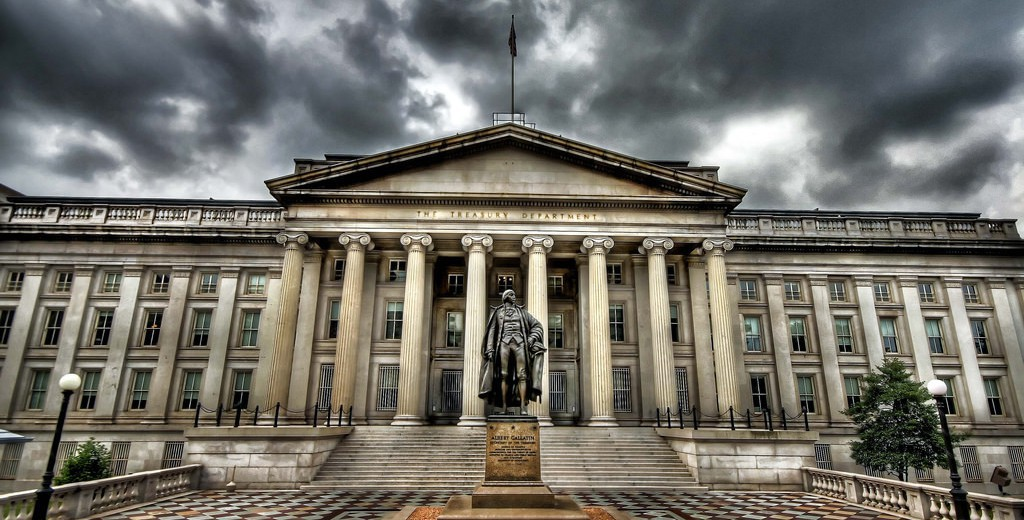 us-treasury-building