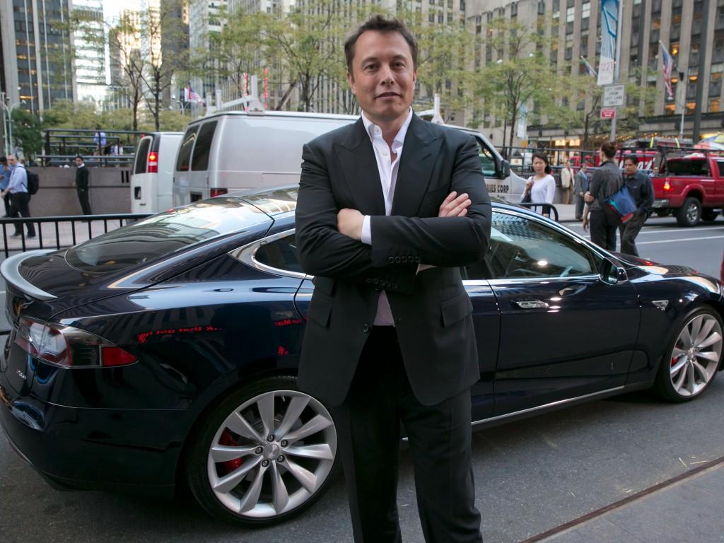 特斯拉总裁Elon Musk