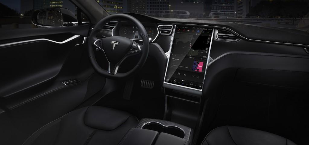 特斯拉Model S的内部设计