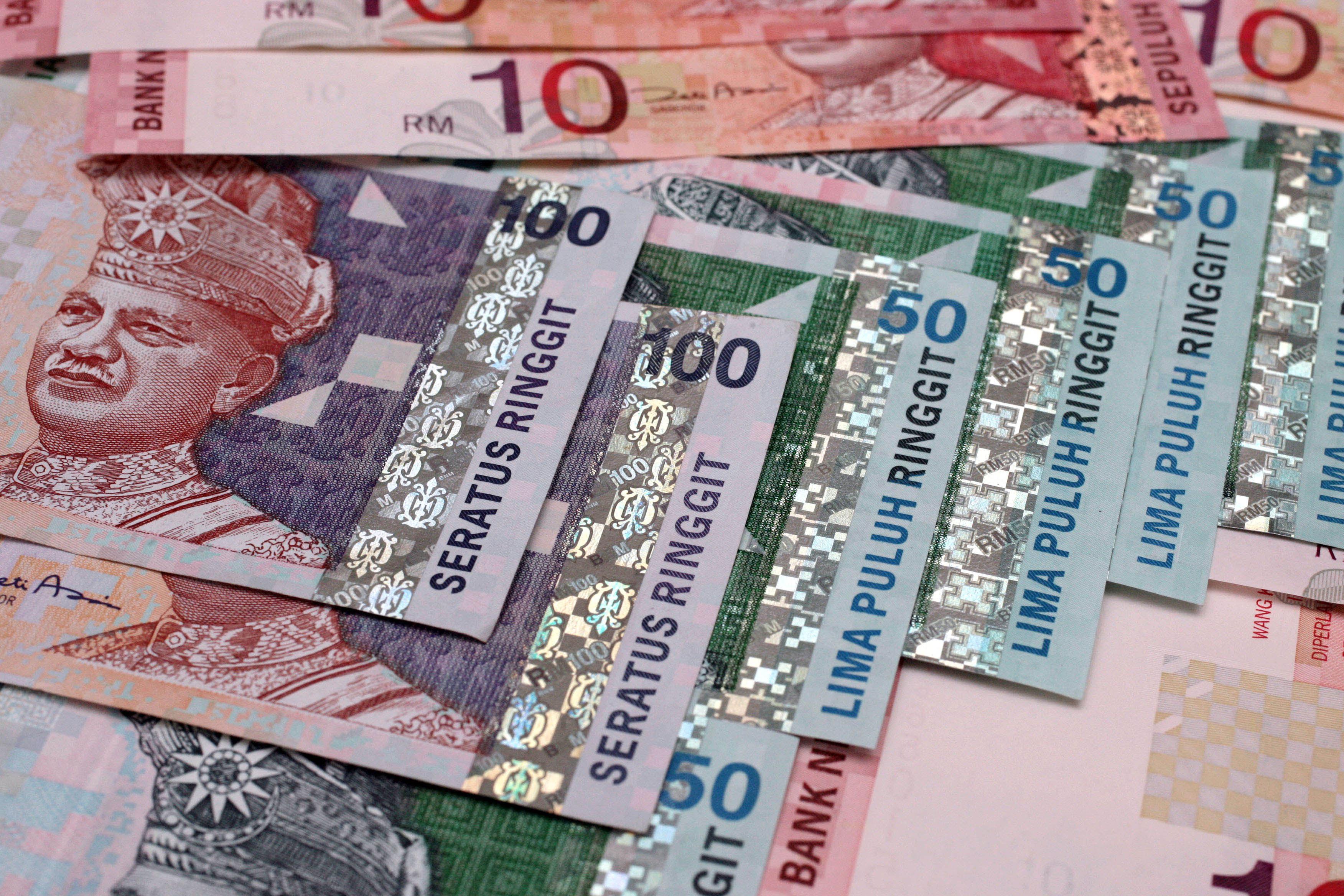 Malaysian currency-RINGGIT.Monday.29th.January 2007.Photographer: Goh Seng Chong/Bloomberg News