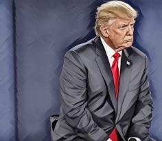 Donald Trump Paint