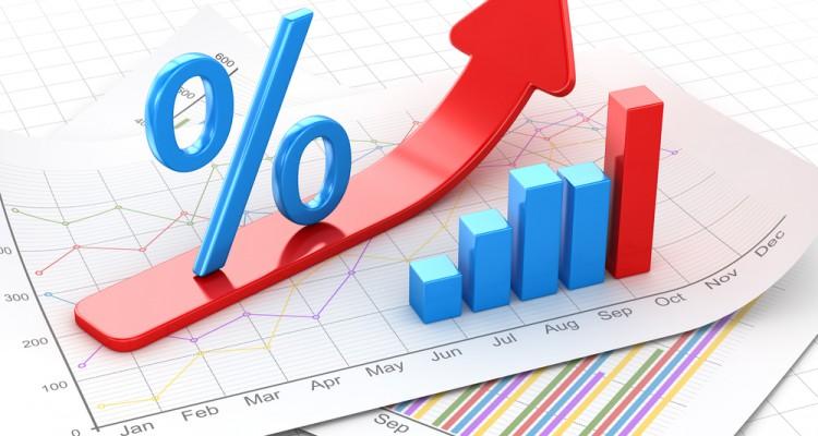 Interest Rates Blue