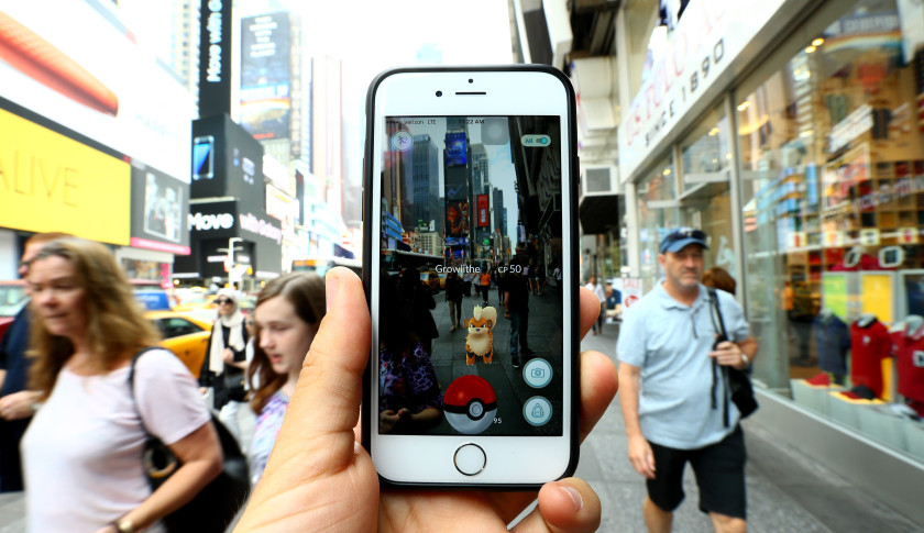 Pokemon GO game in New York