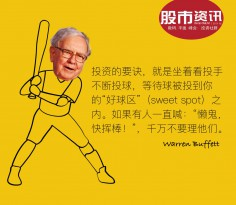 Buffett Quote Baseball