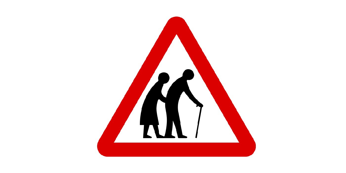 Old Age Sign Featured