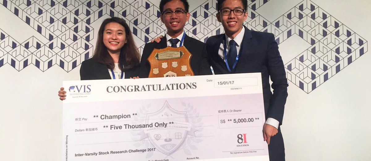 VIS Intervarsity Stock Research Challenge