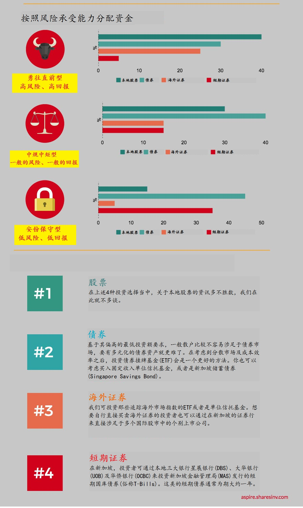 (chinese) alternative asset allocation infographic