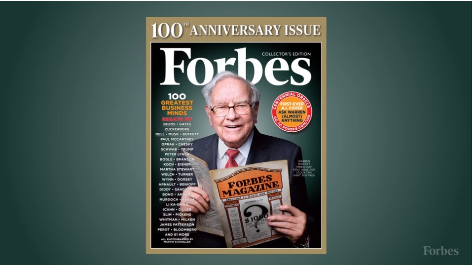 Buffett Forbes Cover