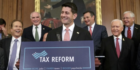 Paul Ryan Republican Tax