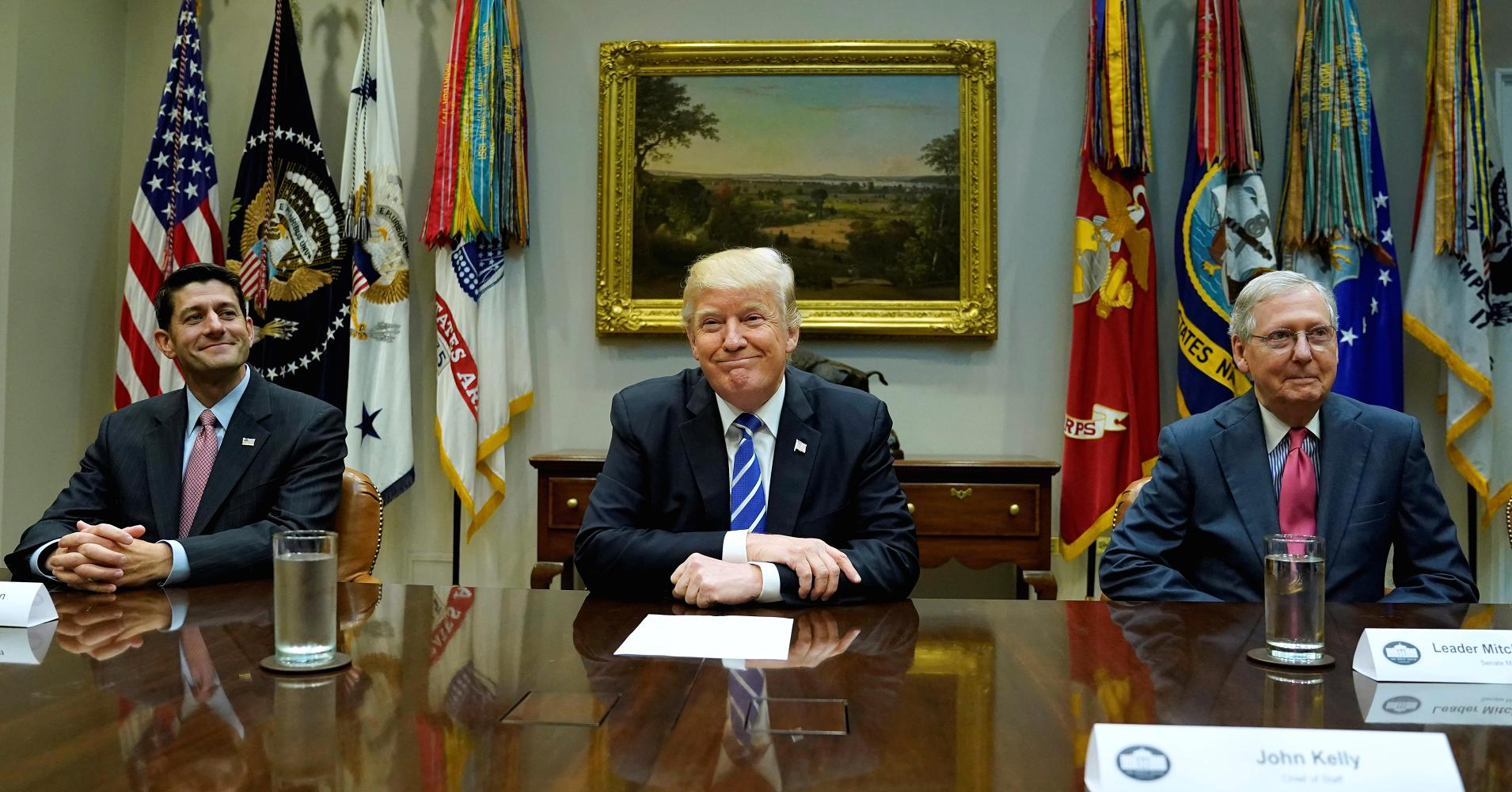 Trump and GOP leaders