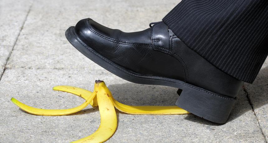 Banana Slip and Fall