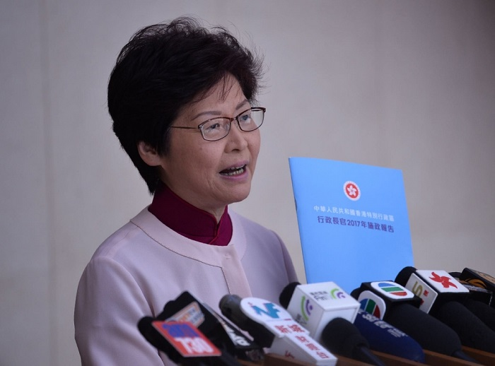 Carrie Lam Cheng policy address