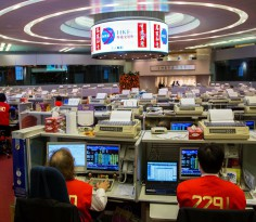 First Day Of Trading Of The Lunar New Year at The Hong Kong Stock Exchange (HKEx)