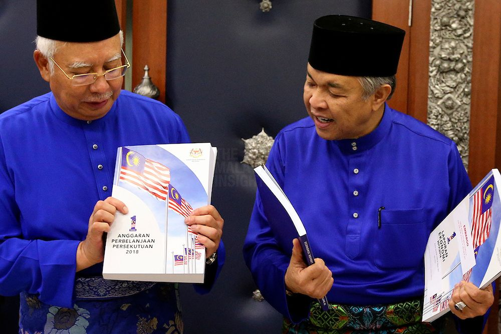Najib Budget 2018