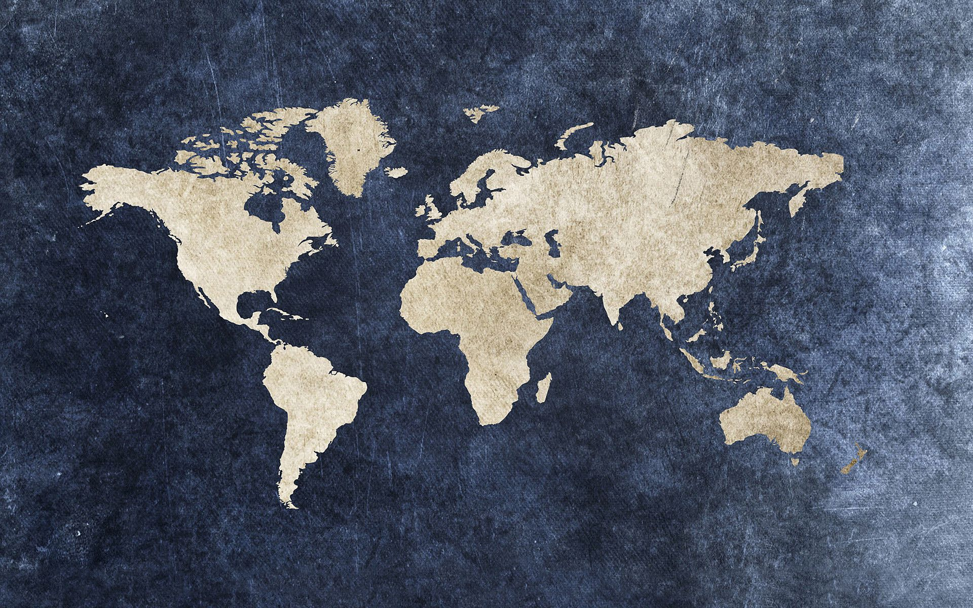 World Map Jeans