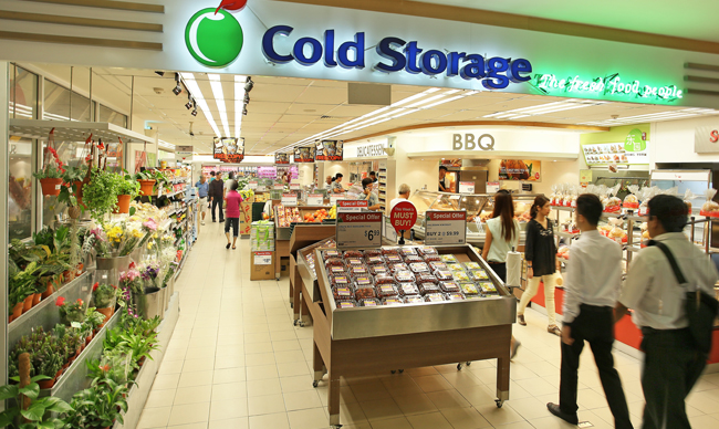 cold storage supermarket retail shopping grocer