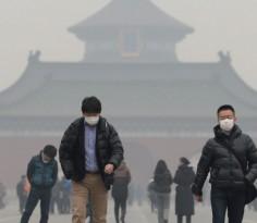 最新的十三五规划已列名主要的环保目标 图源:ChinaFotoPress/Getty Images