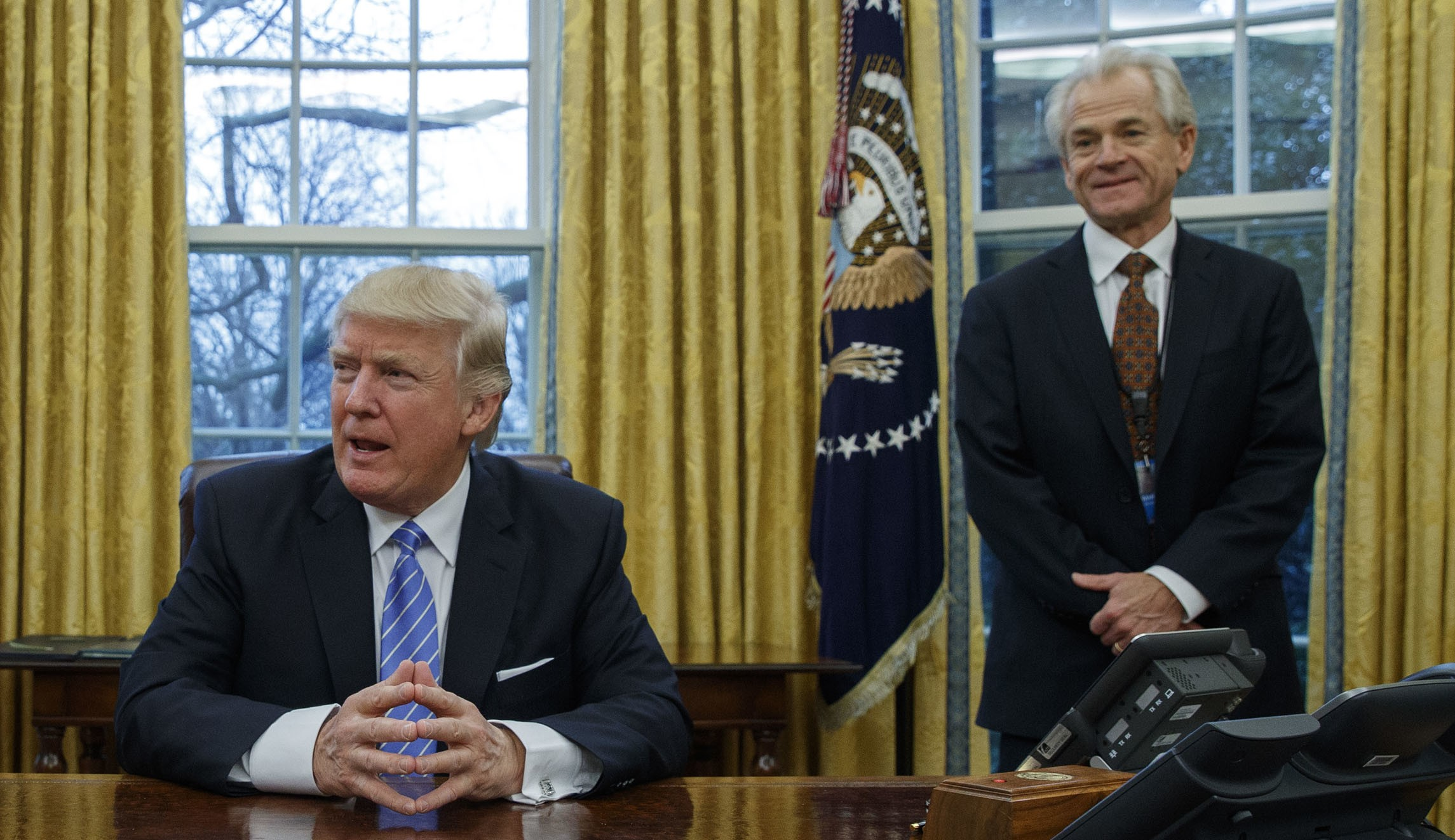 Trump and Navarro