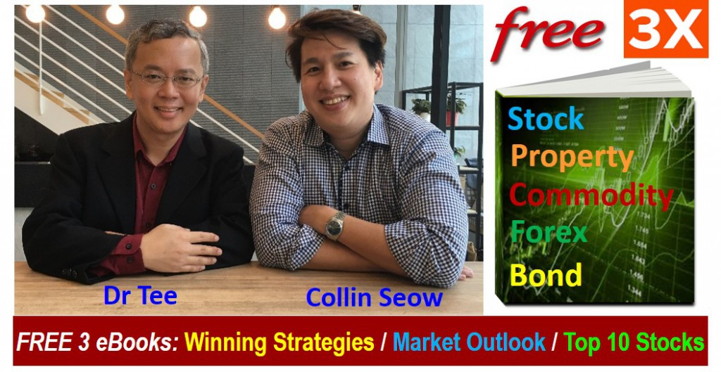 3 Investment ebooks by Dr Tee & Collin Seow